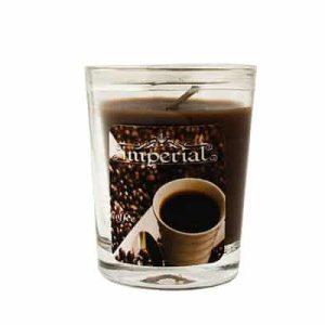 شمع لیوانی قهوه