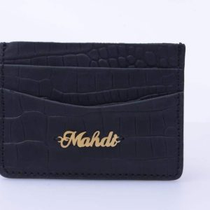 کیف کارت با پلاک